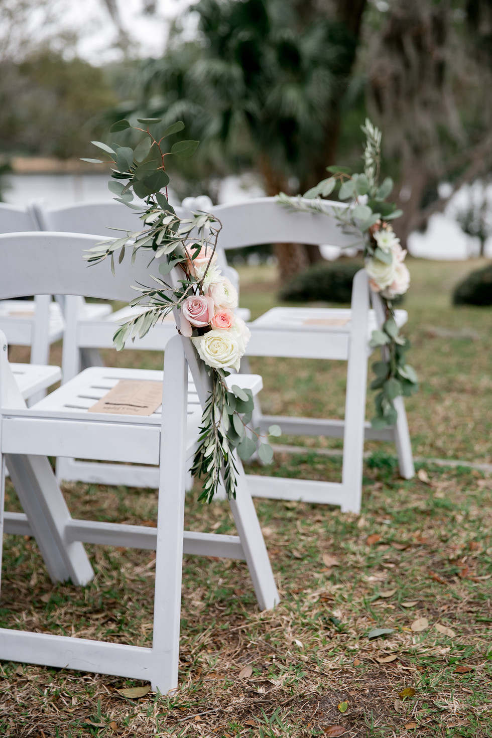 Chair Aisle Flowers