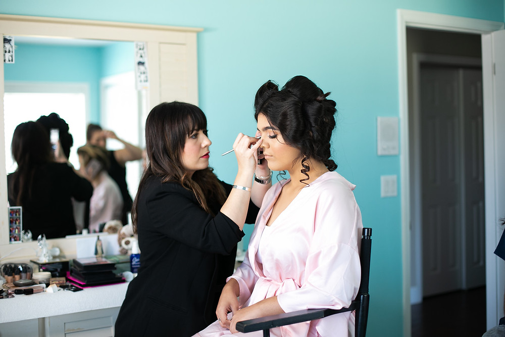 Hair and makeup wedding quinceanera
