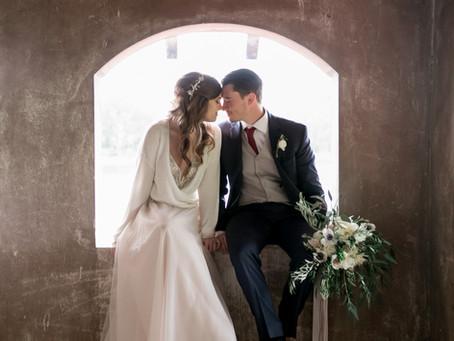 Romantic Boho Chic Wedding at the Sydonie Mansion