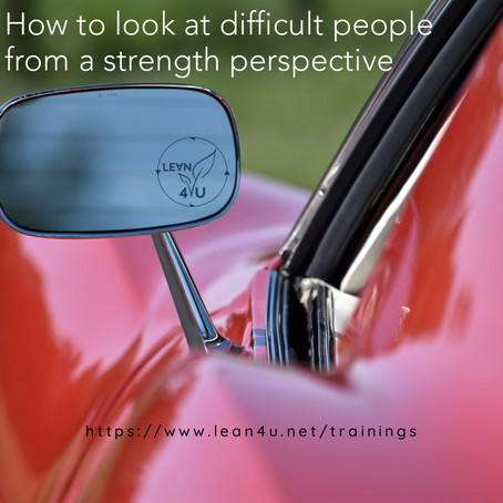 Looking at difficult people from a strength perspective