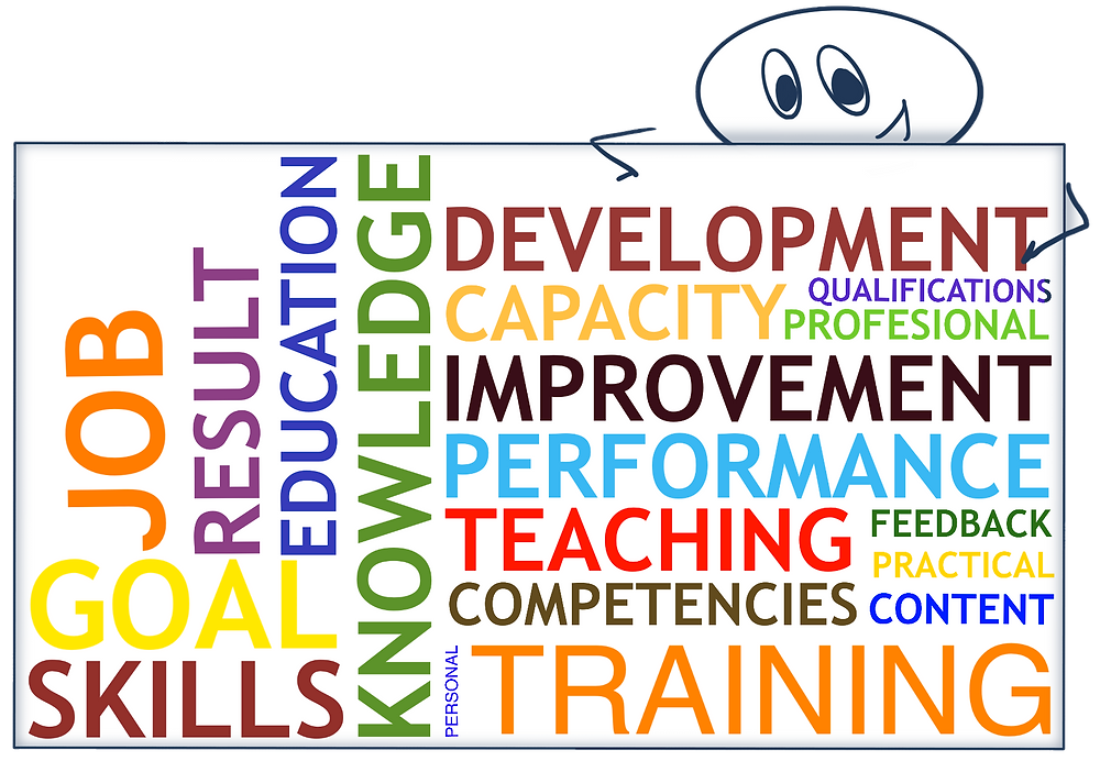 What does your organization offer in terms of training and educational opportunities for employees at all levels?