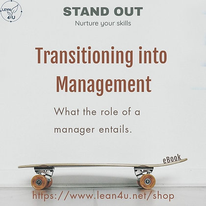 Transitioning into Management