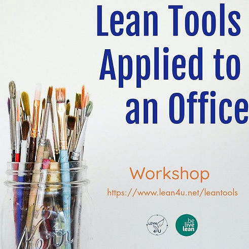 Lean tools applied to an office environment