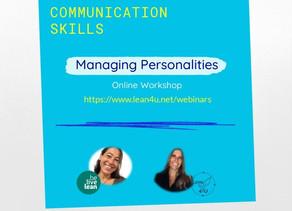 Managing personalities...