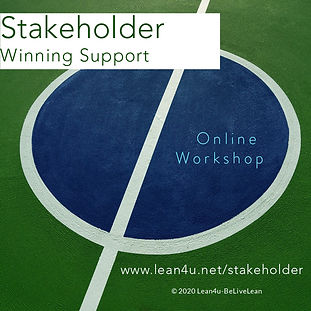 Stakeholder map - Winning support