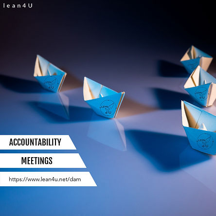 Daily accountability meetings