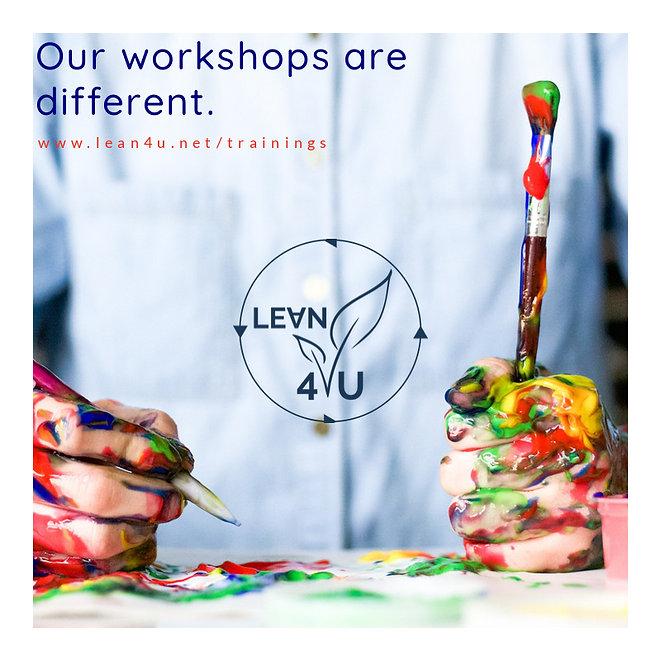 Workshops at Lean4U