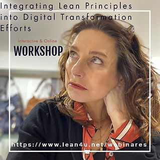 Integrating lean principles into digital transformation efforts