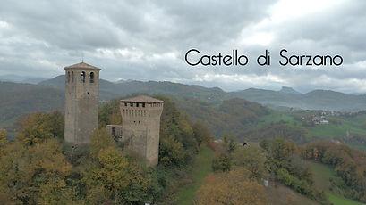 Castello di Sarzano, Droneria Emiliana, Emilia Romagna, riprese aeree, video, fotografia, drone