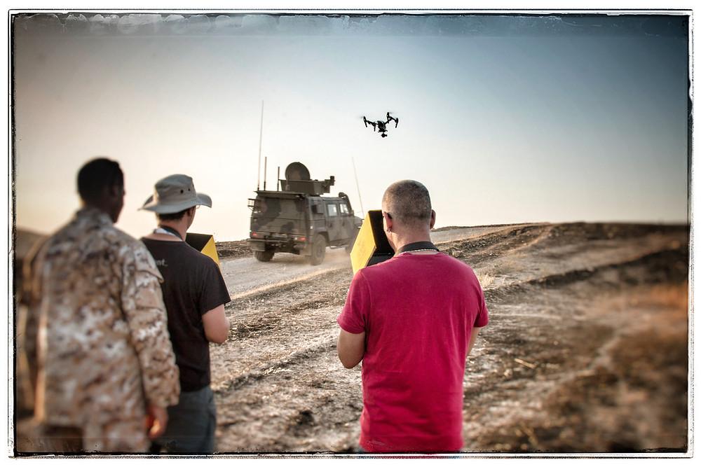 Iraq, Mosul. Droneria Emiliana in azione