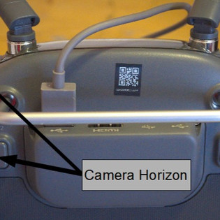 DJI Inspire 2 camera Horizon FIX