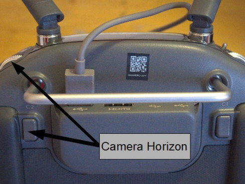 DJI Inspire 2 camera Horizon FIX