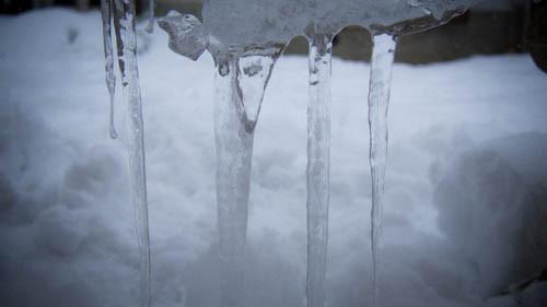 Droni al gelo