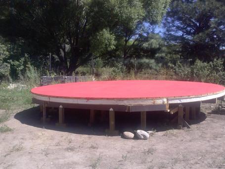 Raising the Yurt