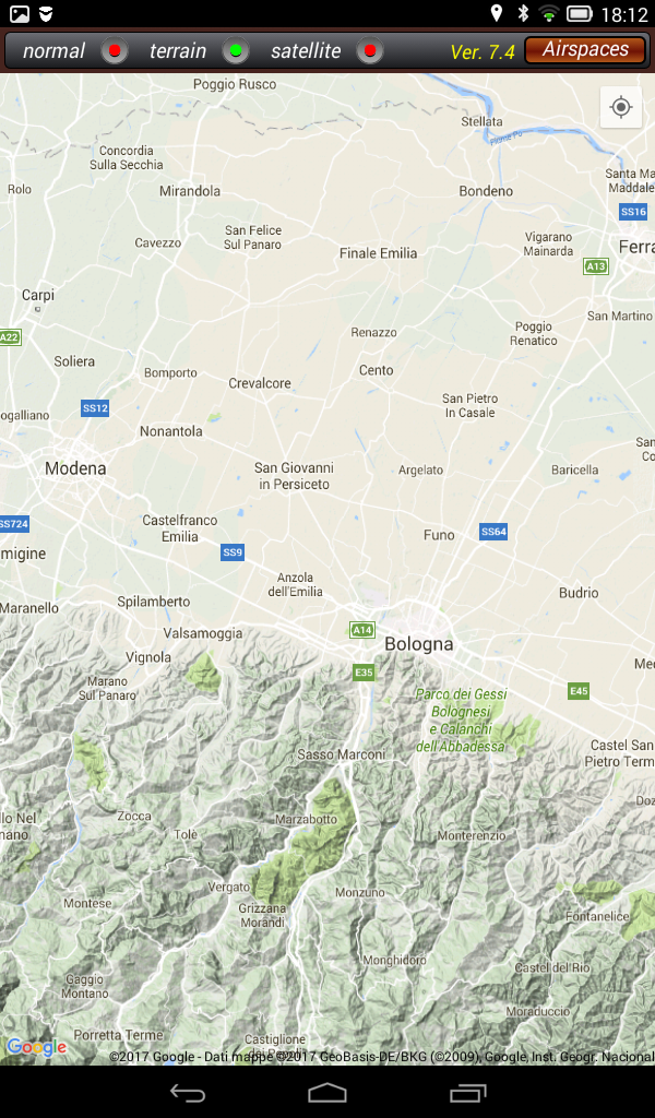 Italian Airspace
