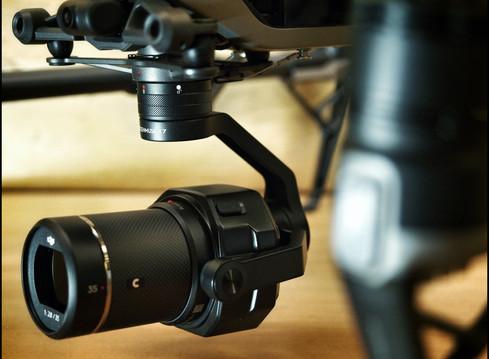 DJI ZENMUSE X7, lo stato dell'arte in fatto di camere per droni.