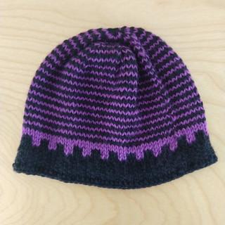 purple & black stripe
