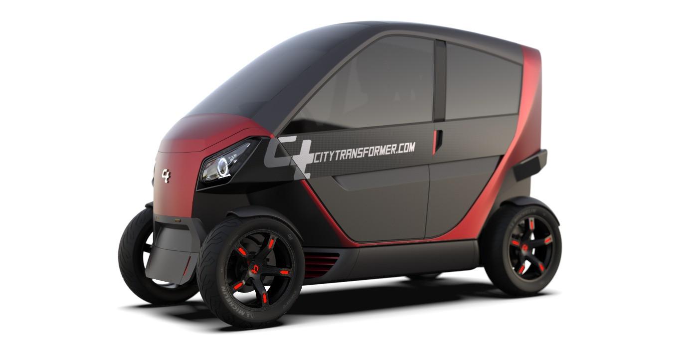 Electric Folding Car