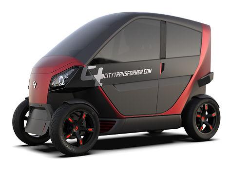 city transformer folding car