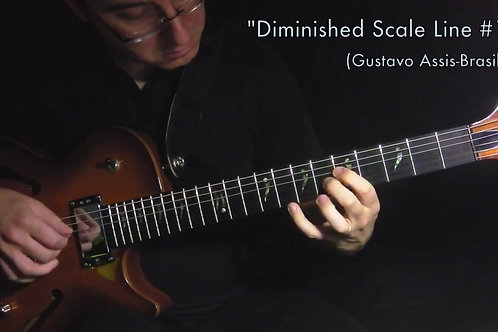 Diminished Scale Line #1