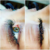 5D lashes for my client with sparse natu