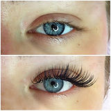 Lovely holiday lashes for a lovely clien