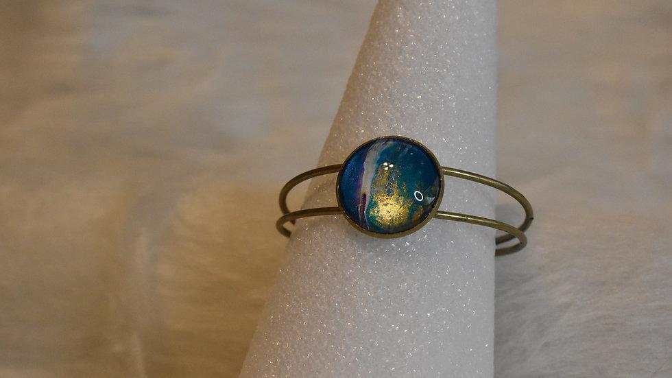 Antique Brass Cuff Bracelet