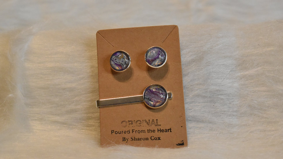 Cuff Links and Tie Bar