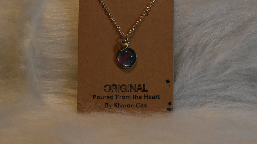 Little Girls necklace with heart charm
