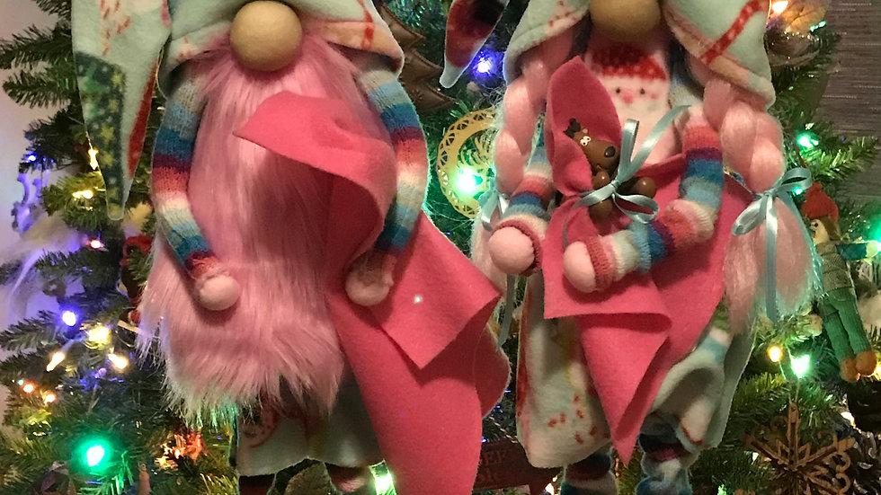 Gnomes on Christmas Morning