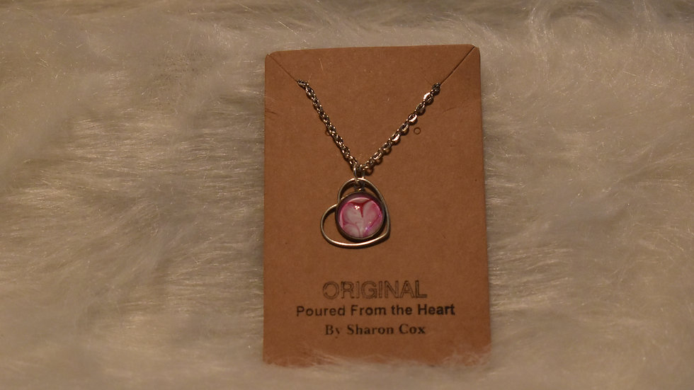 Little Girls necklace with heart