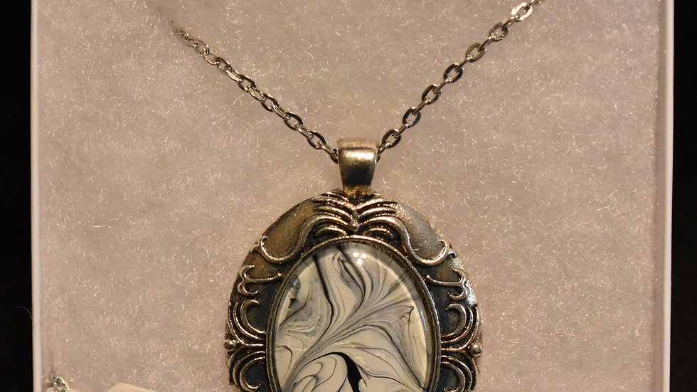 Large Pendant on silver chain