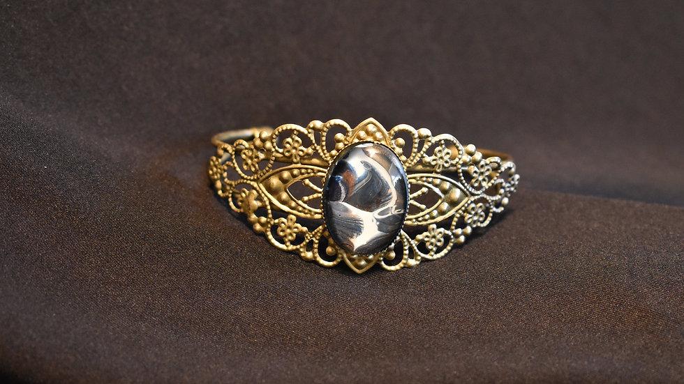 Filigree Antique Cuff Bracelet