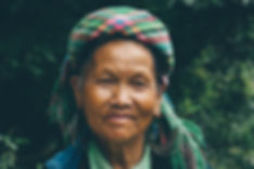 Women in traditional clothing, Sapa, Vietnam