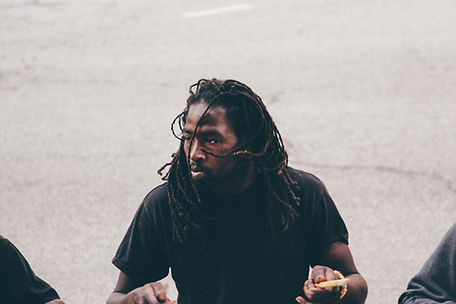 Street drummer, Chicago, Illinois, USA