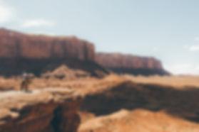 Woman on a horse, Monument Valley, AZ, USA