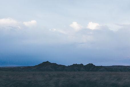 Mountains, Badlands National Park, South Dakota, USA