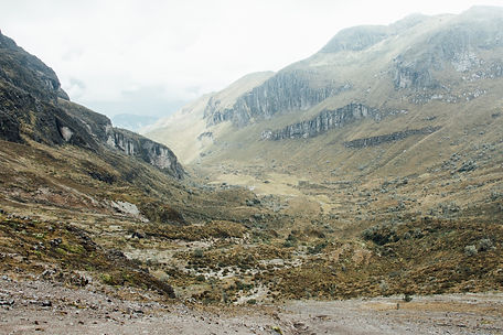 Rocky mountains, Quito, Ecuador