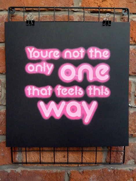 Your Not The Only One (Pink)