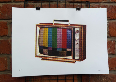 First Colour TV