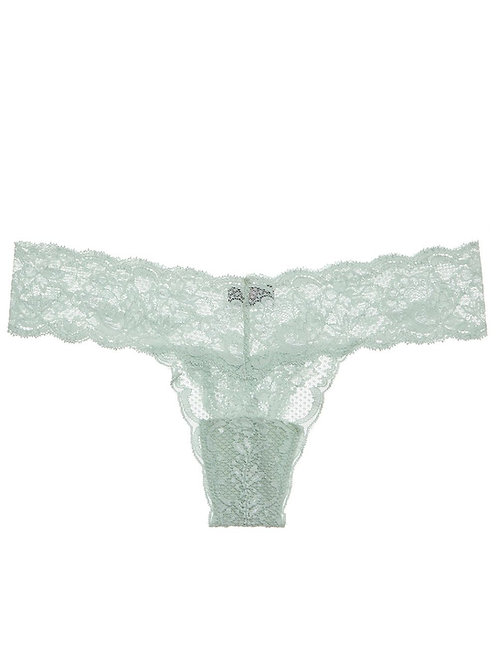 MIST GREEN / NEVER SAY NEVER CUTIE LACE THONG