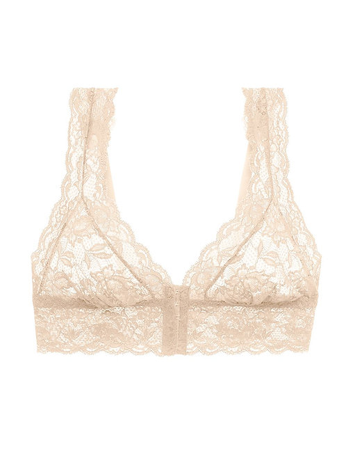 NEVER SAY NEVER HAPPIE FRONT CLOSURE BRALETTE