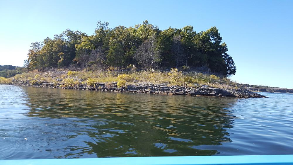 Guided fishing Lake Norfork Arkansas