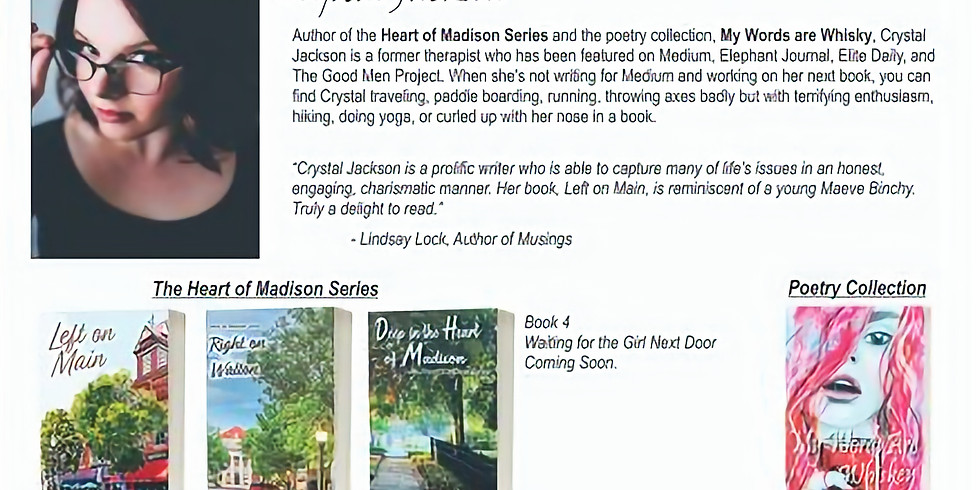 Book signing at the Madison Artist's Guild