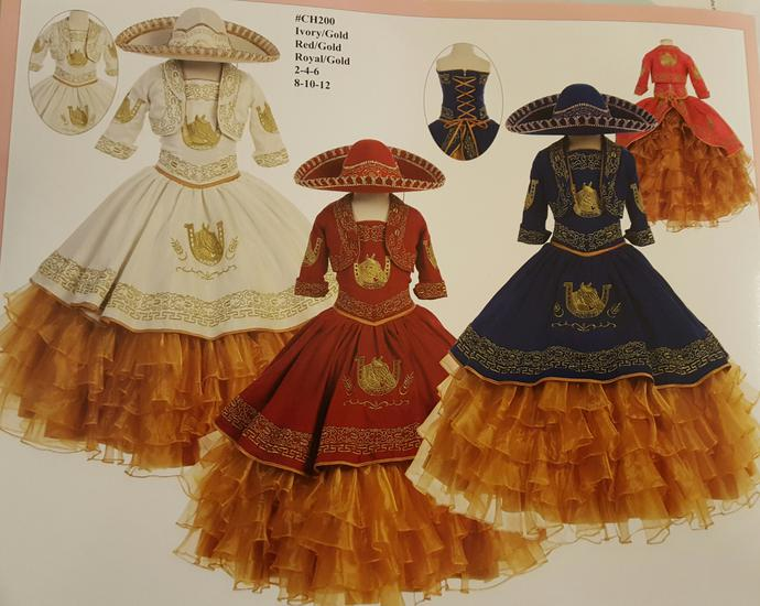 Vestidos Charra Y Trajes De Charro Fest