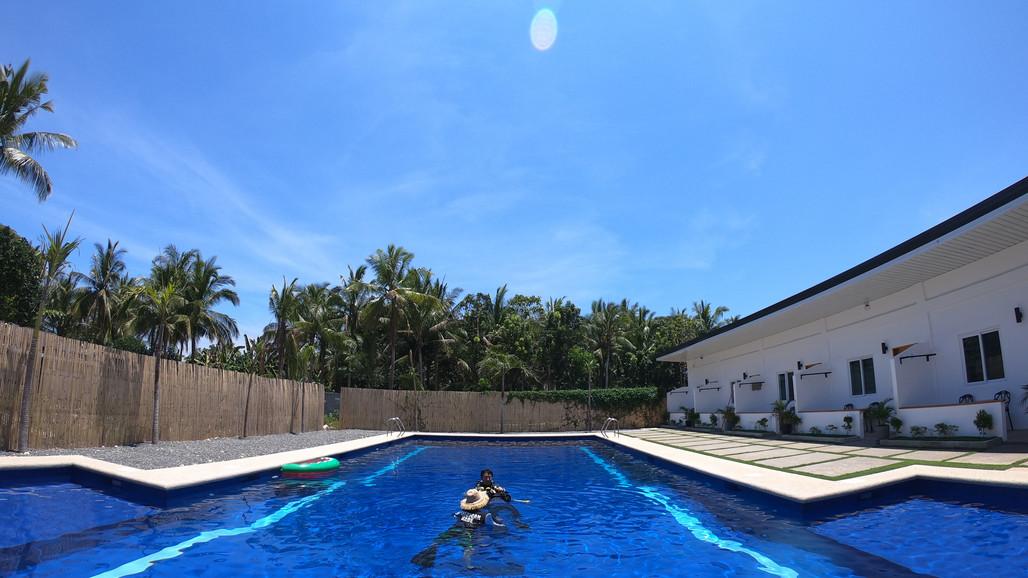 보홀리조트 수영장 06 - 라팡리조트 la pang resort
