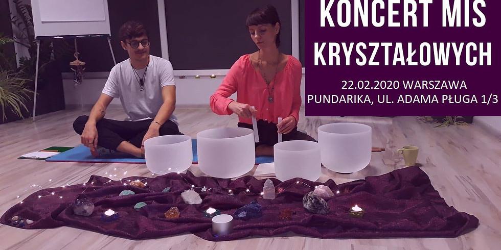 Kryształowa Medytacja-Koncert Mis Kryształowych