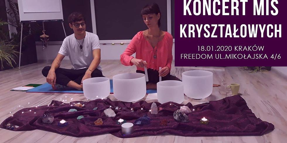 Kryształowa medytacja - koncert mis kryształowych - Kraków