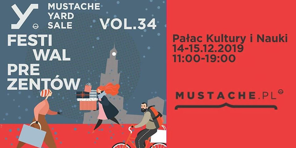 Targi - Mustache Yard Sale vol. 34 - Festiwal Prezentów