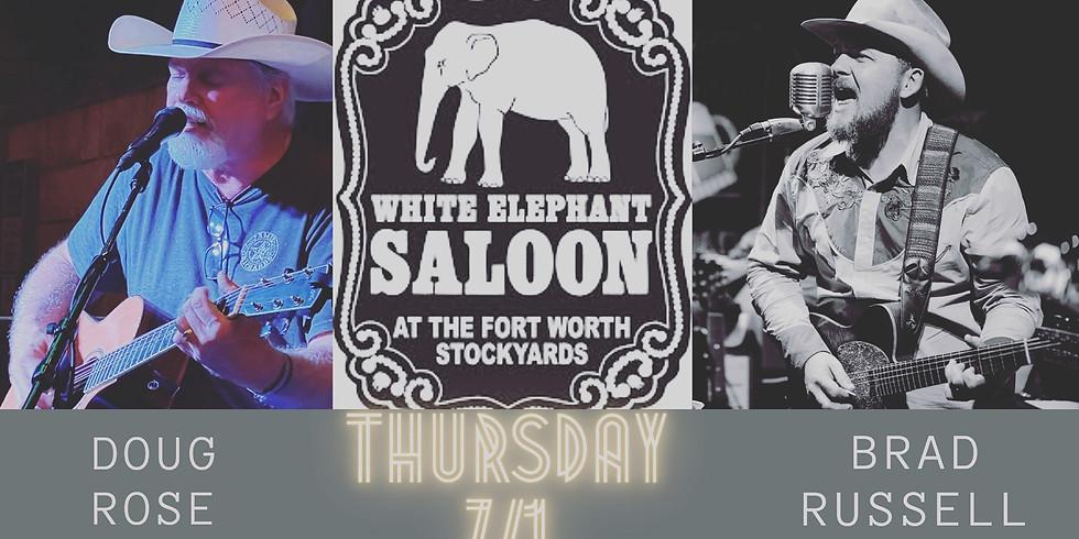 White Elephant Saloon - w/ Doug Rose (Acoustic)